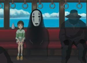 Chihiro viajando
