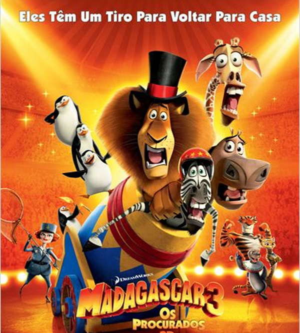 Os Procurados (Madagascar 3: Europe Most