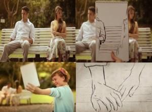 Lila Visualizando laços sutis de amor...