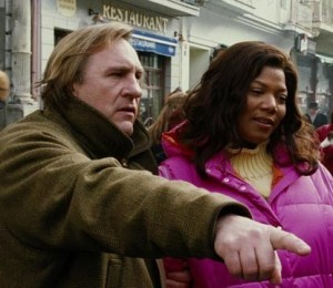 Queen Latifah e Gérard Depardieu