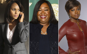 Kerry Washington, Shonda Rhimes, Viola Davis