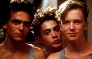 Ilan Mitchell-Smith, Robert Downey Jr. e Anthony Michael Hall