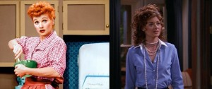 Lucille Ball - Debra Messing - Sitcom